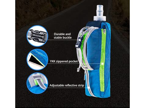 500ml hydration pack aonijie outdoor 500ml running handheld water bottle bag 5