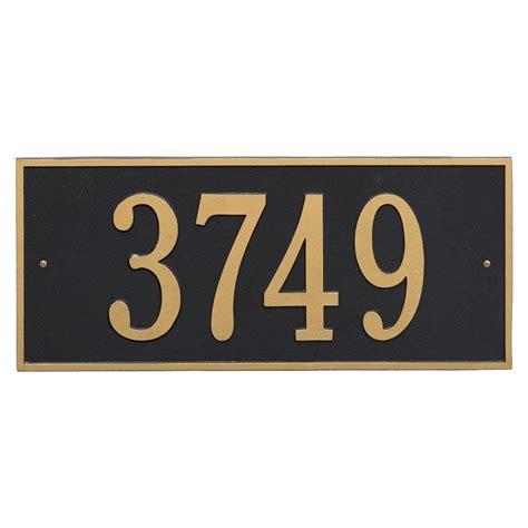 l post address sign address plaques address signs the home depot