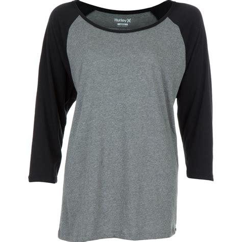 T Shirt Reglan Hurley hurley solid slouchy raglan t shirt sleeve