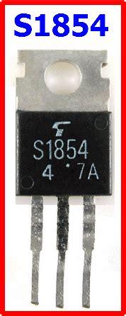 transistor driver regulator tv s1854 datasheet vcgo 150v regulator driver toshiba