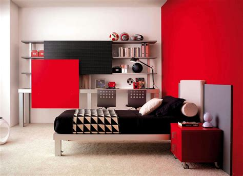 red and black teenage bedroom teens room gorgeous red and black themed cool teen designs on creamy fur regarding