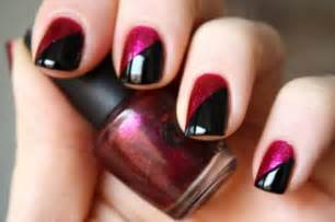 gallery for gt two color nail designs