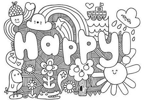 cute coloring pages for teens coloring pages
