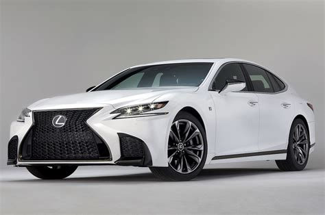 lexus sports car white lexus unveils f sport line for ls 500 motor trend