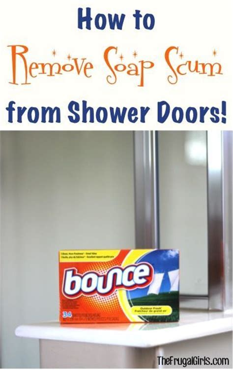 How To Clean Shower Doors With Vinegar 1000 Ideas About Soap Scum On Shower Cleaning Tips Clean Microwave Vinegar And