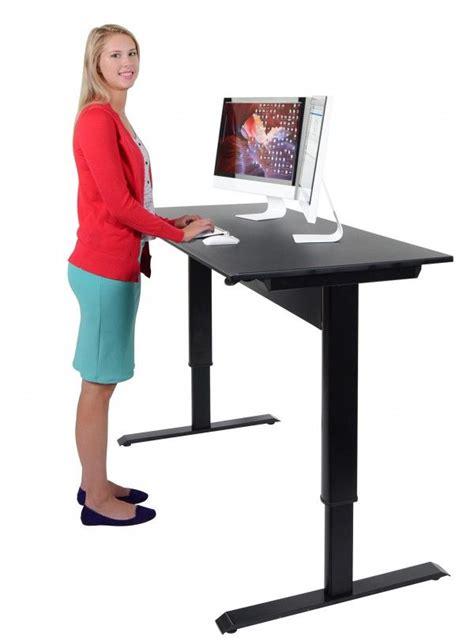 pneumatic adjustable height standing desk best 25 stand up desk ideas on standing desks