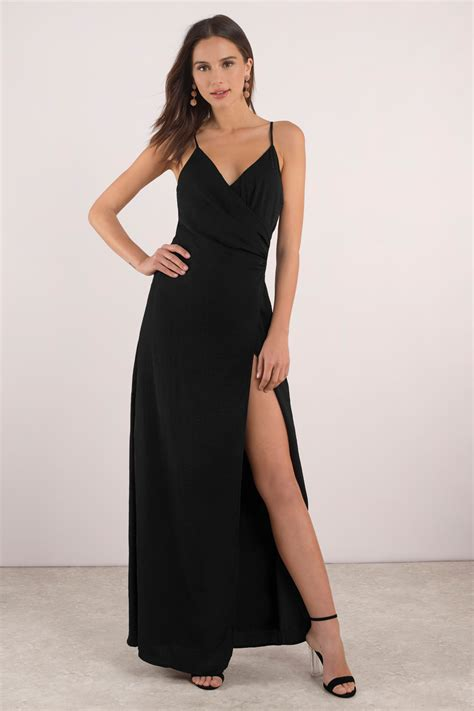 Slit Dres dress high slit dress v neckline 31
