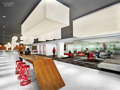Interiors Hq by Gensler S New Lobby Paradigm For Marriott S Bethesda Hq