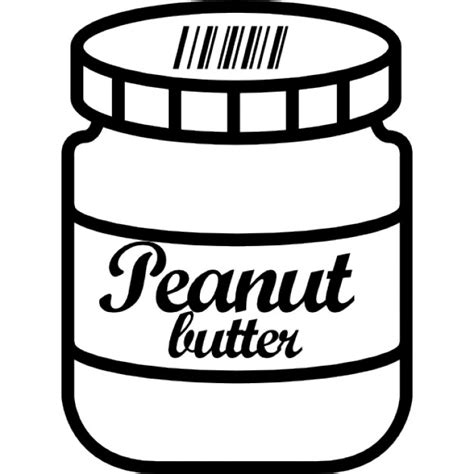 Peanut Butter Jar Icons Free Download Peanut Butter Label Template