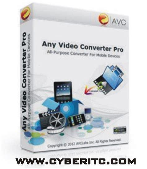 any video dvd converter burner full version free download cyberitc any video converter 4 3 7 full version free download