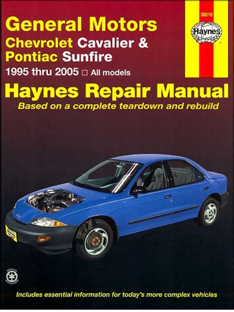 service manual 2005 pontiac sunfire collision repair underhood dimensions duraflex 174 chevy cavalier pontiac sunfire repair manual 1995 2005 haynes