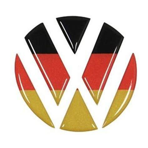 aliexpress logo germany flag vw front bumper rear emblem badge sticker for