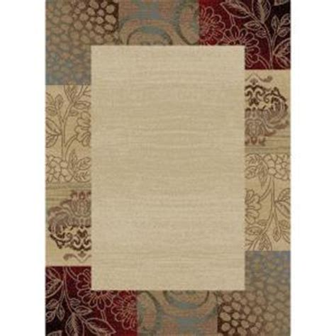 home depot 5x7 area rugs tayse rugs elegance ivory 5 ft x 7 ft transitional area rug 5202 ivory 5x7 the home depot