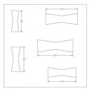 Bow Tie Template by Large Bow Tie Template Bow Tie Shapes Templates