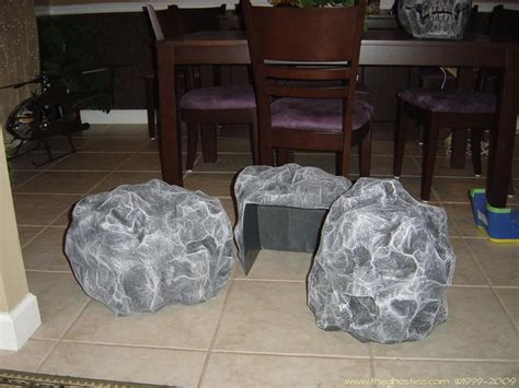 How To Make A Paper Mache Rock - rock on artificial rocks covers