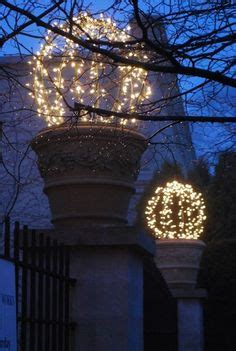chicken wire christmas lights outside lighted mesh balls on paper chicken wire and