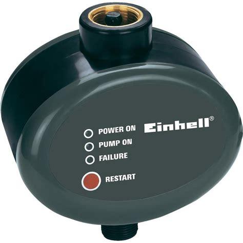 Einhell Hauswasserwerk Druckschalter Einstellen by Wasser Druckschalter 10 Bar Max 230 V Einhell 4174221