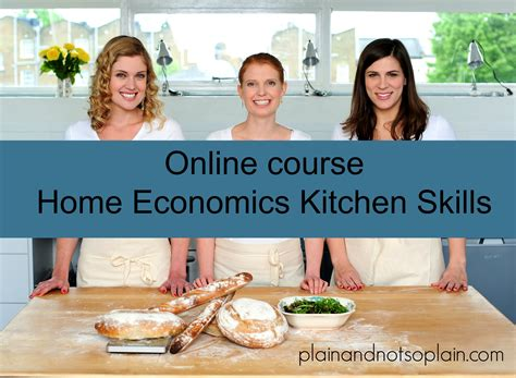home economics lesson plans