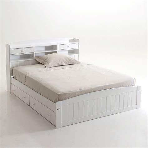 lit deux personnes avec tiroirs