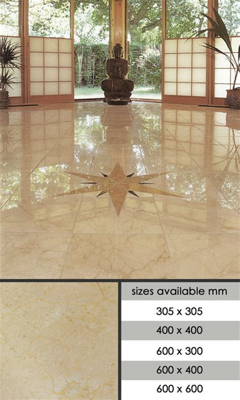 Suppliers of Crema Marfil Marble Tiles for Floors and Walls