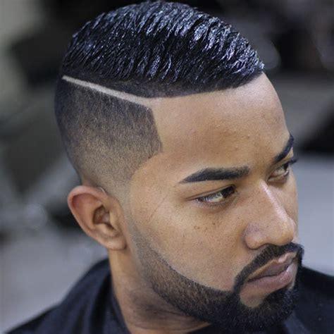 parted haircut male dark 21 fresh haircuts for black men classy haircuts and