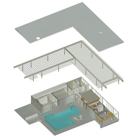 stahl house floor plan 21 best images about stahl house case study house 22 on
