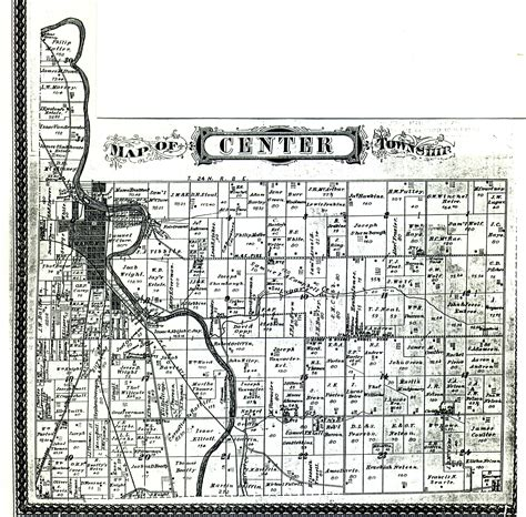 Grant County Records Grant County Townships