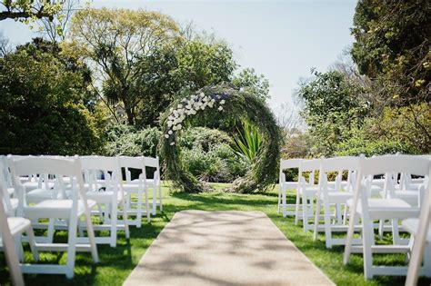 outdoor wedding reception venue melbourne botanical gardens wedding venues in melbourne
