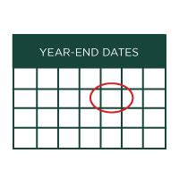 new year end date fiscal year end images new calendar template site