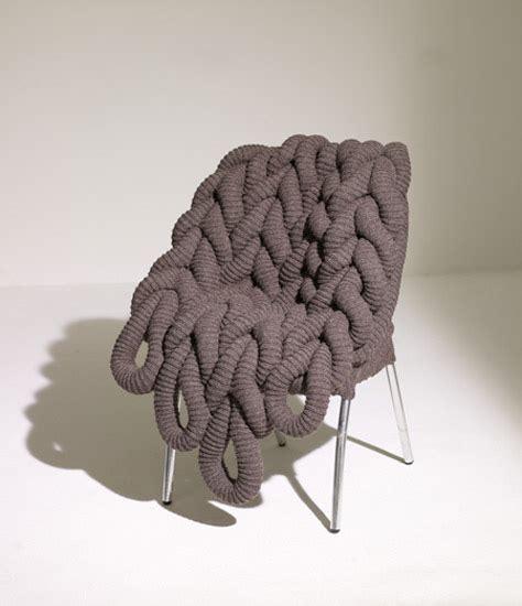 modern knitting modern furniture design by claireanne obrien designer