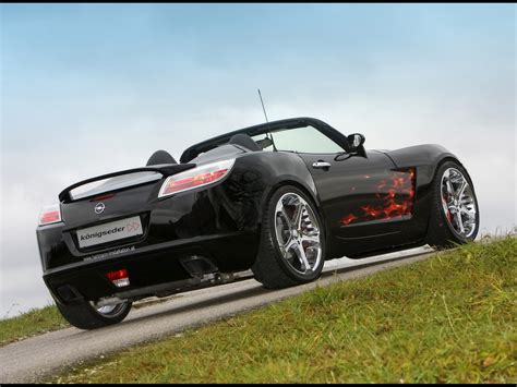 opel gt pics koenigseder opel gt aime photos photogallery with 9 pics