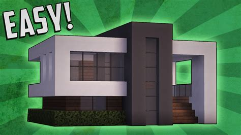 minecraft small modern house minecraft how to build a small modern house tutorial 14