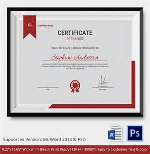 certification templates free certificate template 21 free word pdf psd