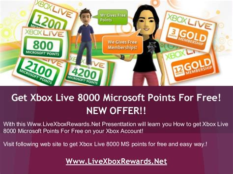 Free Xbox Live Codes Giveaway 2014 - xbox live 8000 ms points redeem codes free giveaway
