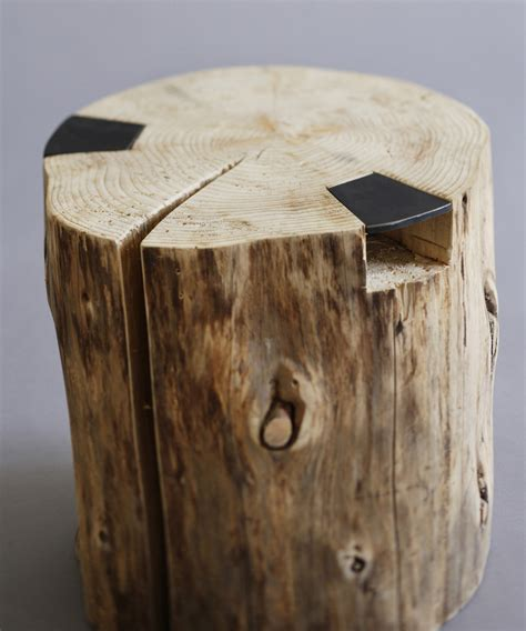 Trunk Stool these 27 stump stools will naturally fit anywhere into