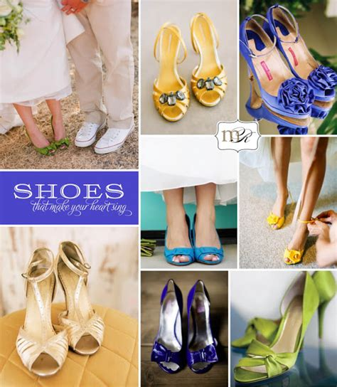 Coloured Wedding Shoes by Adrian And Wedding Trends Coloured Wedding Shoes
