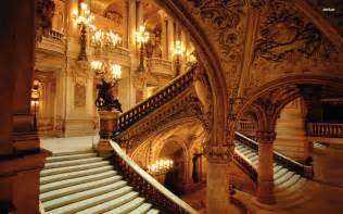Prom Backdrops Stairs In The Castle Wallpaper 824190