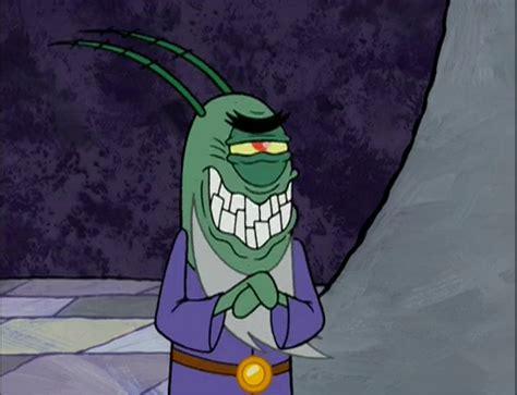 spongebuddy mania spongebob characters lord planktonimor