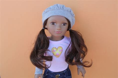 american girl doll hair dresser my salon doll the only doll with real hair my salon