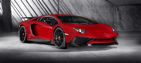 fastest lamborghini made the 2016 lamborghini aventador sv with 750hp