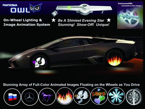 wheels color changing cars oracle illuminated led wheel rings color changing