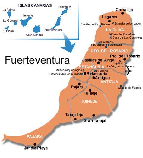 mapa alquiler fuerteventura apartamentos casas rurales pisos villas duplex loft bungalows