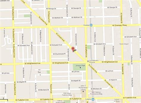 lincoln park chicago map map lincoln park chicago chiropractic sports injury