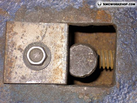 bench vise restoration bench vise screw installation and restoration part3 bench