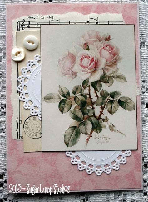Vintage Handmade Cards - 8 best images of vintage handmade cards