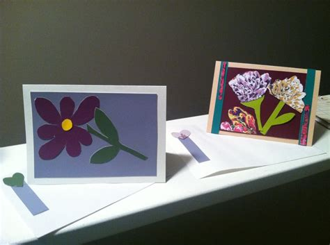 handmade cards made out of paint sles from menards