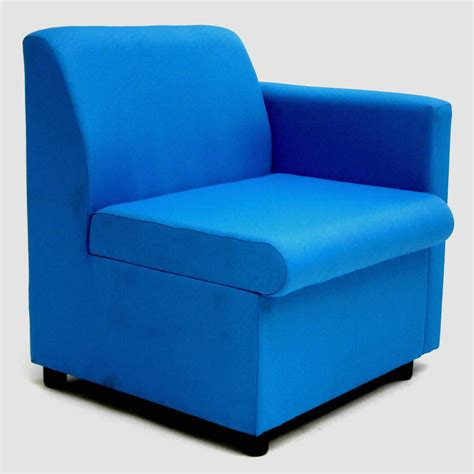 breakout area modular sofa single arm unit