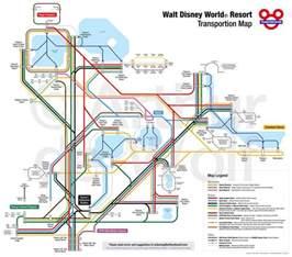 Disney World Transportation Map by Disney Transportation Map Disney Vacation Pinterest