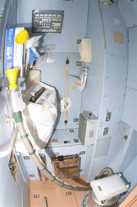 how astronauts go to the bathroom this toilet demo shows how astronauts boldly go in space