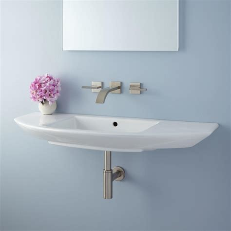 bathroom sink wall mount finola mini wall mount sink bathroom